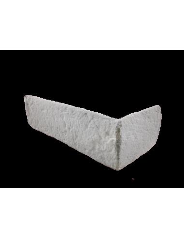 Narożnik cegły retro biały