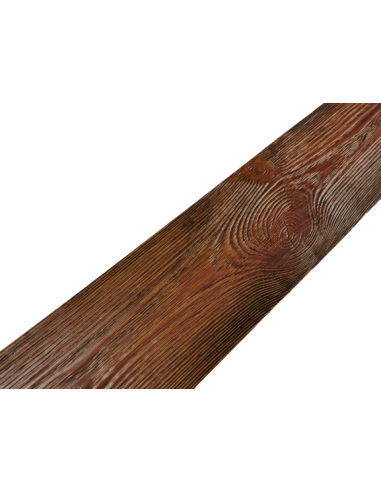 Deska rustykalna ciemny brąz