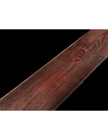 Deska rustykalna mahoń